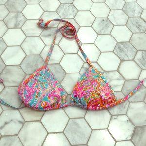 XS Lilly Pulitzer Bikini Top